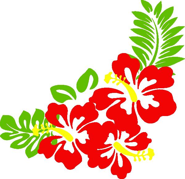 Hibiscus Nat Clip Art At Clker Com Vector Clip Art Online Royalty # ...