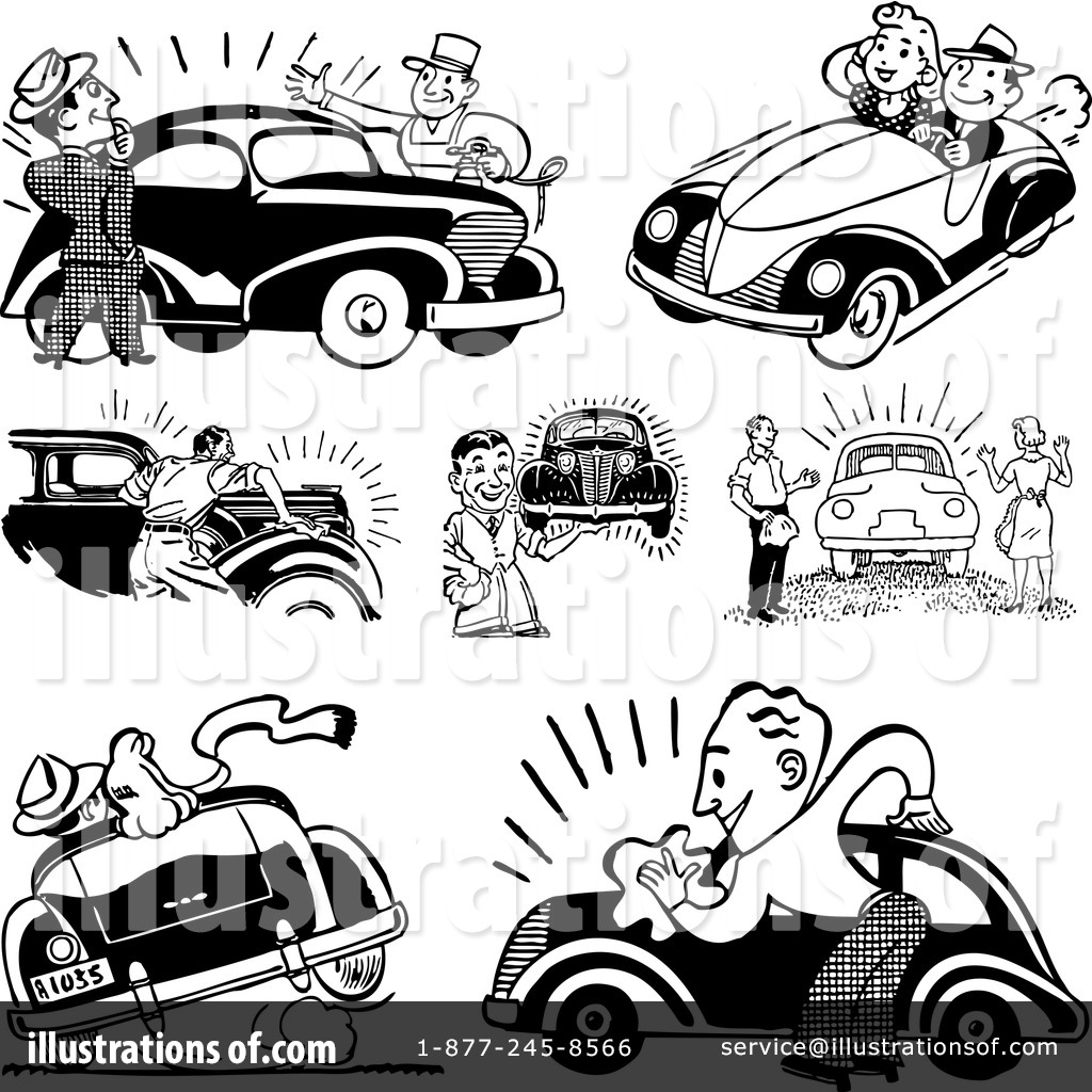Royalty Free  Rf  Automotive Clipart Illustration By Bestvector