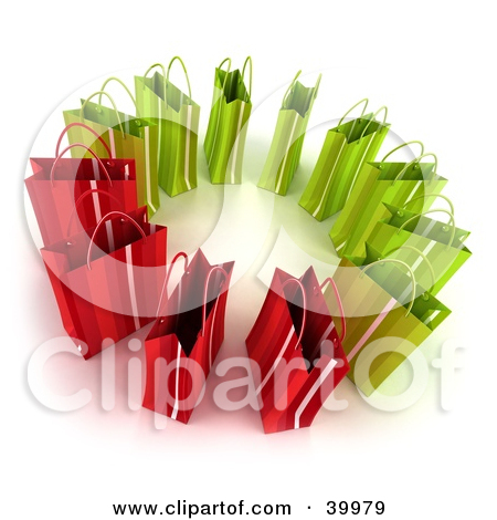 Royalty Free  Rf  Shopping Spree Clipart Illustrations Vector