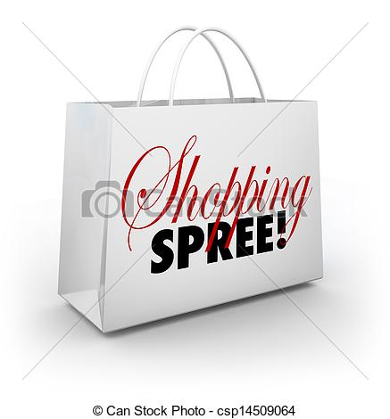 Shopping Spree Bag Marketplace Store Spending Money   Csp14509064
