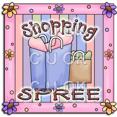 Shopping Spree Clipart