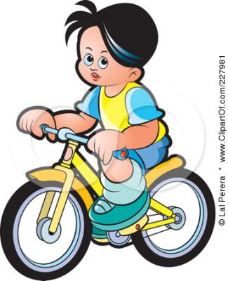 Stay Clipart 110451 Rf Clipart Illustration Of A Boy Riding A Bike Jpg