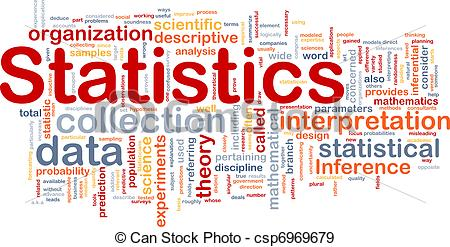 Stock Illustration Of Statistics Background Concept   Background