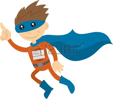 Superman Cape Flying   Clipart Panda   Free Clipart Images