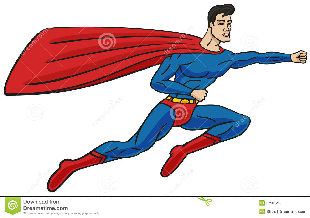 Superman Flying Cape Superman Cape Flying In