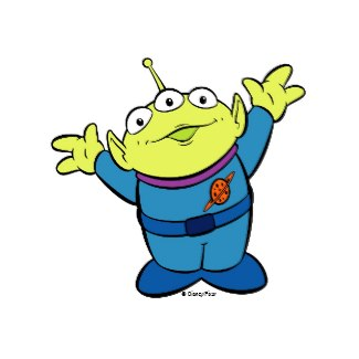 Toy Story Alien Clipart - Clipart Kid