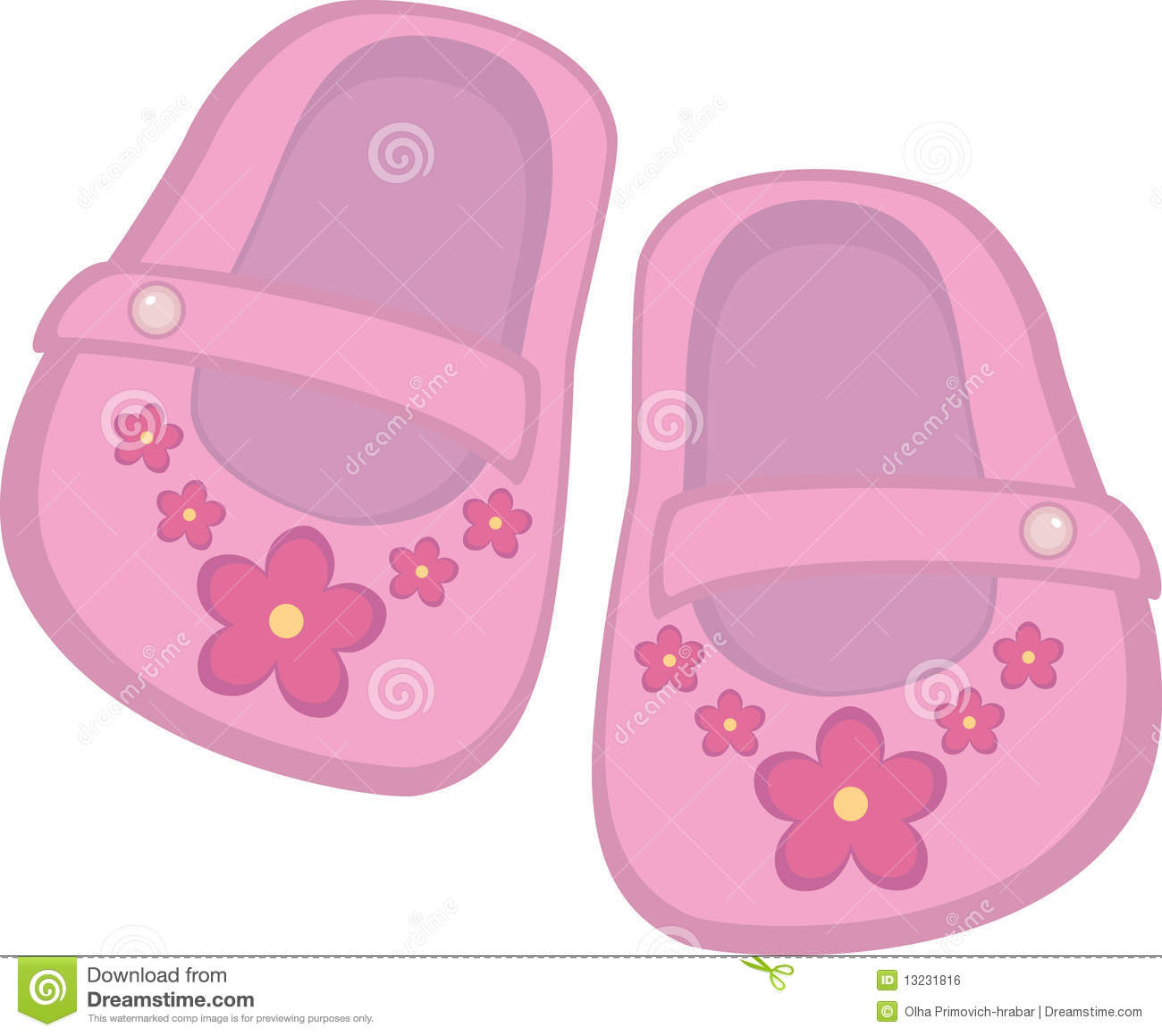 Baby shoes clipart baby girl shoes