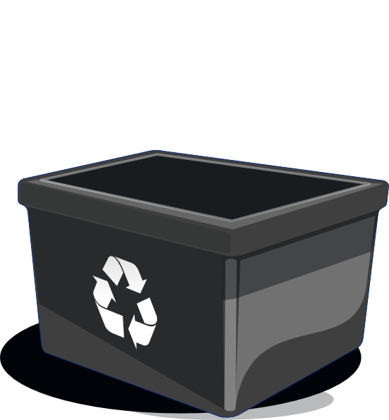 Recycle Bin Clip Art At Clker Com   Vector Clip Art Online Royalty