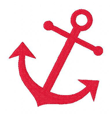 Red Anchor Clipart - Clipart Kid
