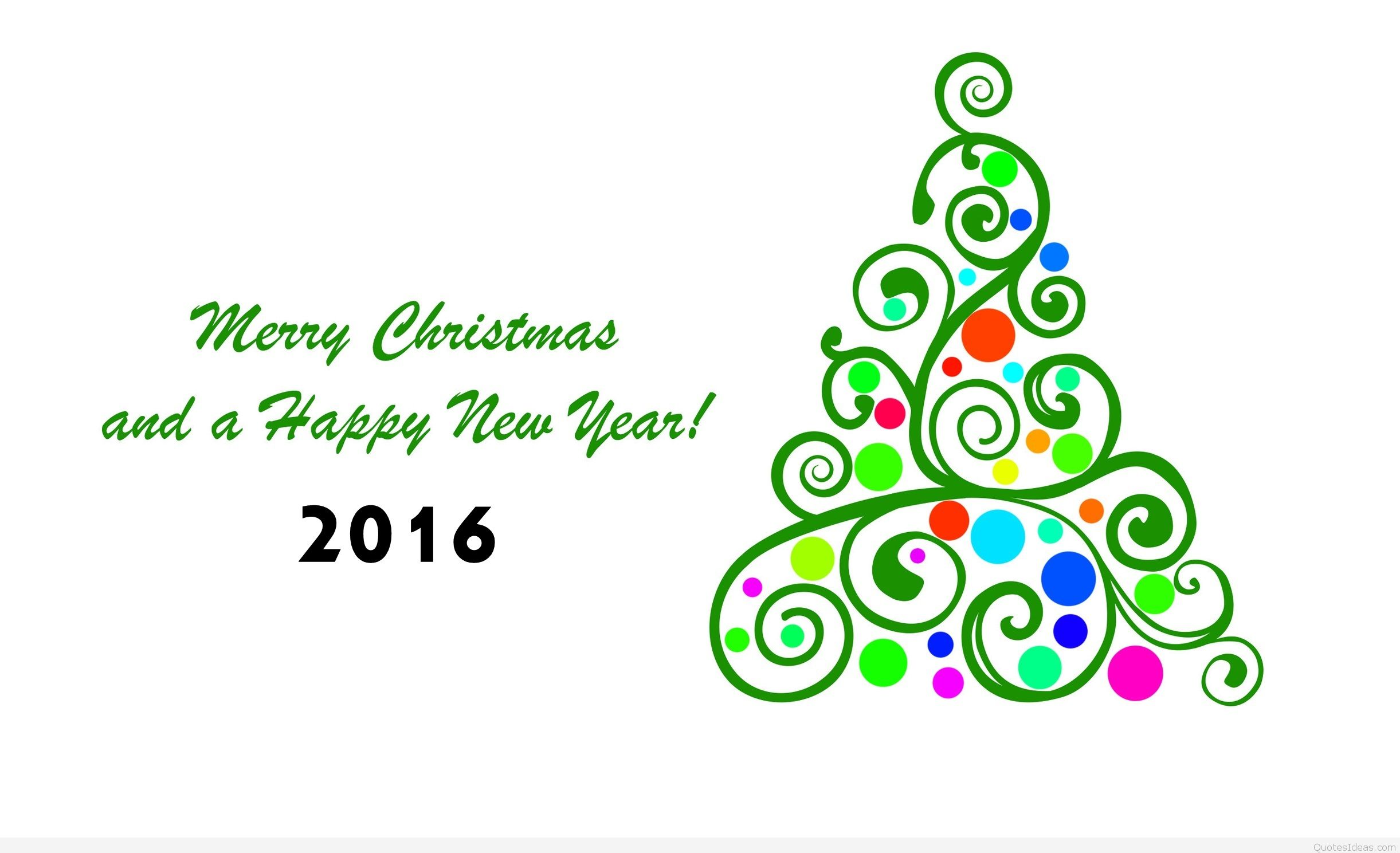 merry christmas and happy new year clip art free - photo #13