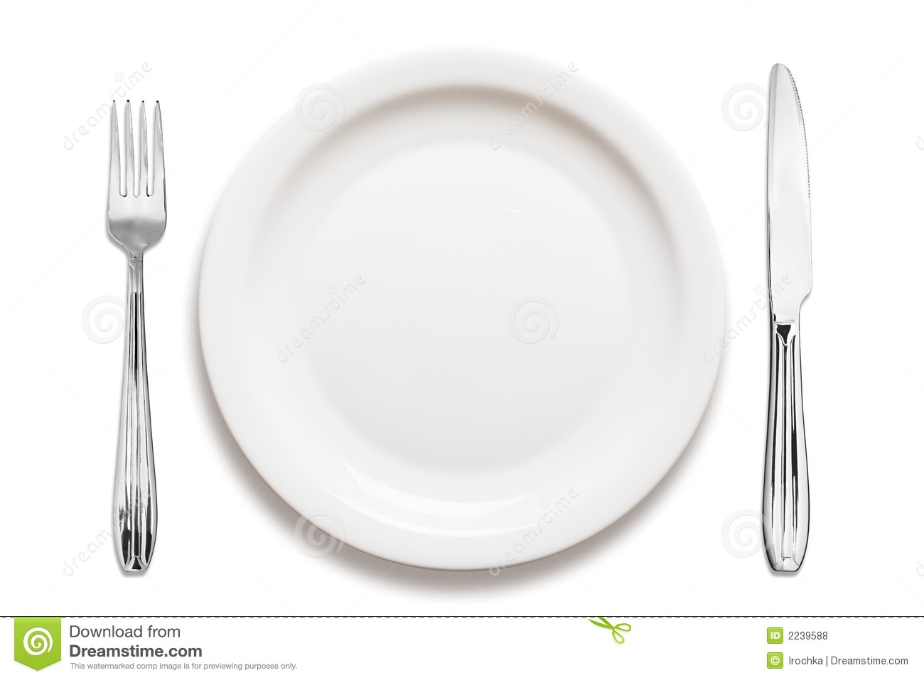 Empty Plate Clipart Dinner Plate Arrangement