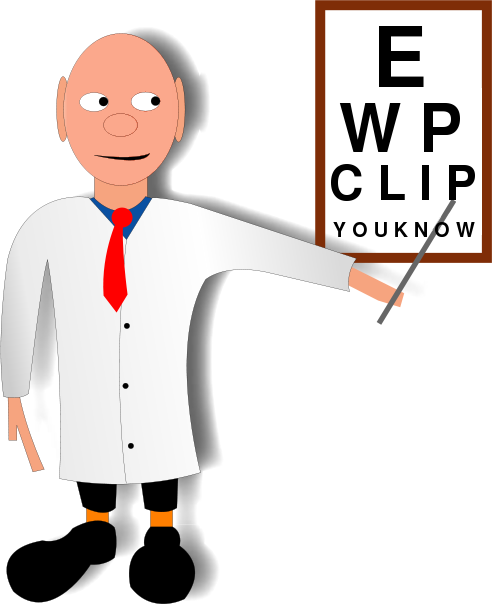 Eye Doctor   Http   Www Wpclipart Com Medical Personnel Doctor Eye