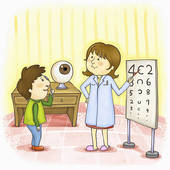 Eye Doctor Illustrations And Clipart