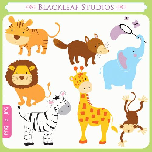 Baby Animals Clipart - Clipart Kid