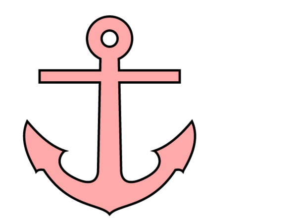 Red Anchor Clipart - Clipart Suggest