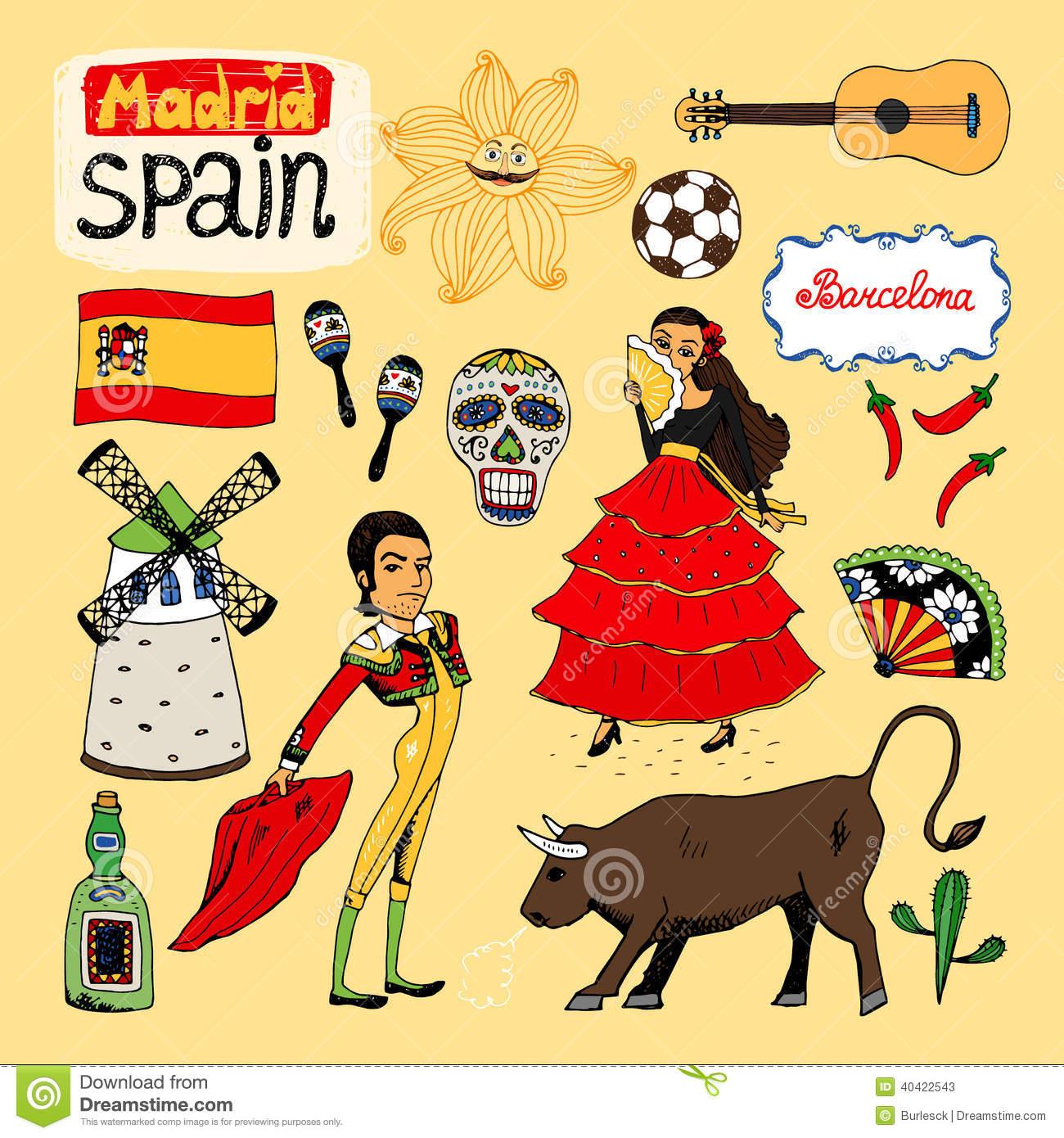 Spain Clipart - Clipart Kid