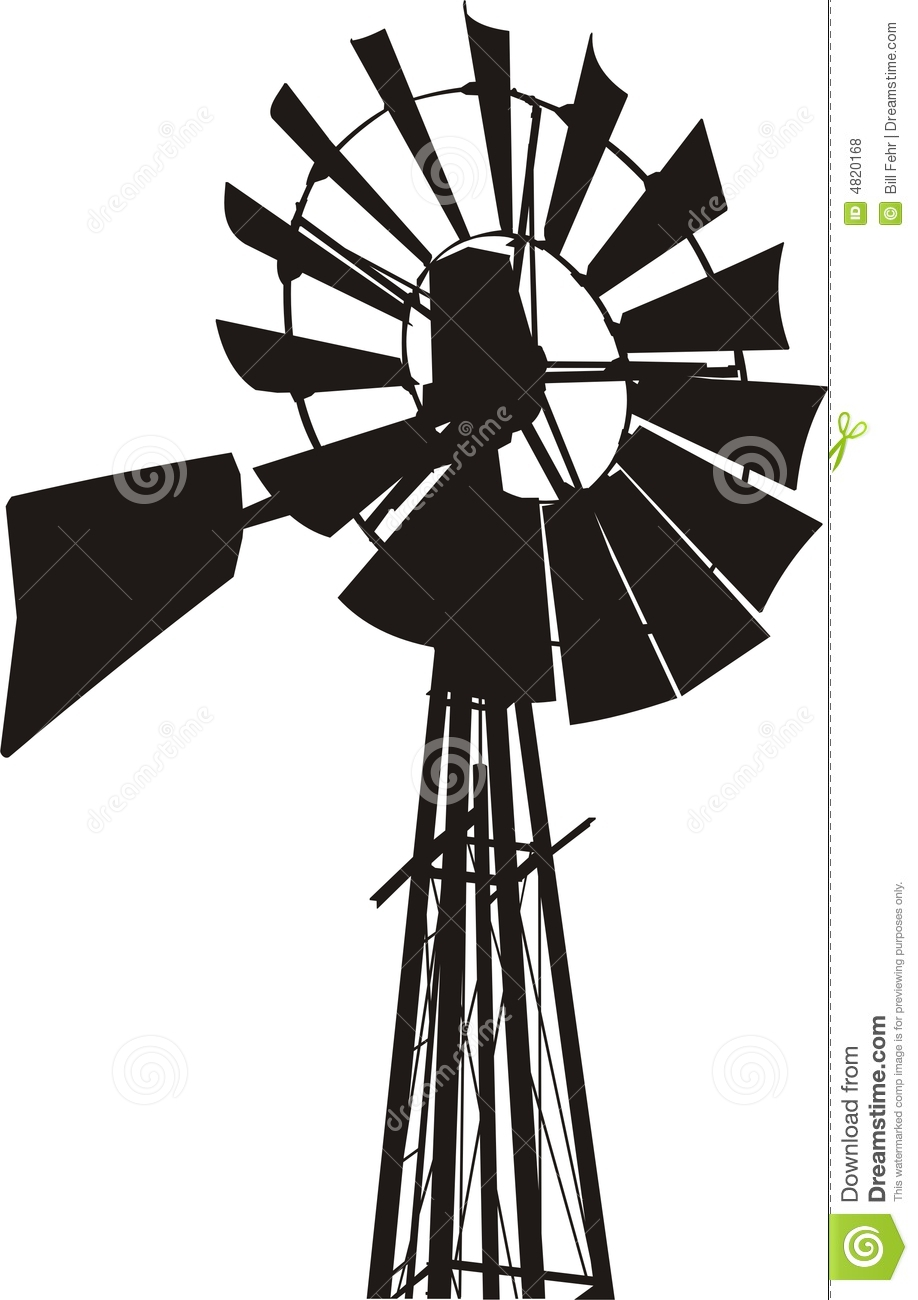 Farm Windmill Clipart - Clipart Kid