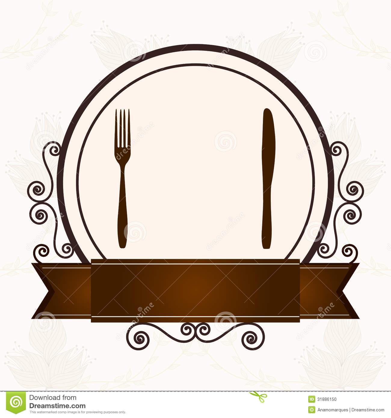 Menu For Restaurants Clipart - Clipart Kid