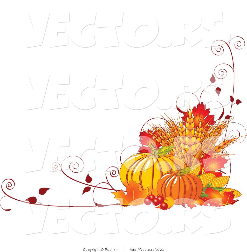 Fall Pumpkin Borders Clipart - Clipart Kid