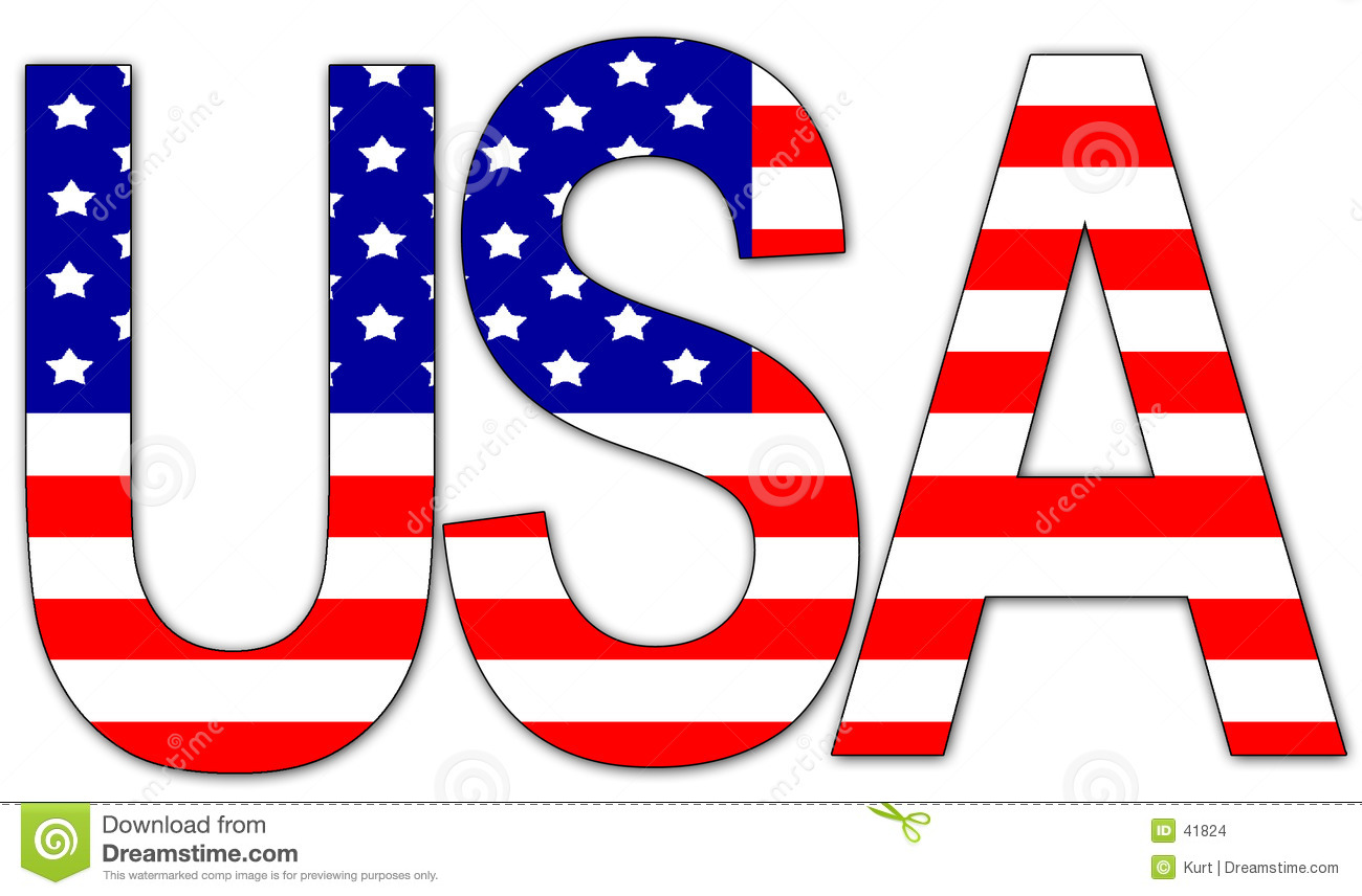 American Flag For Word Clipart - Clipart Kid