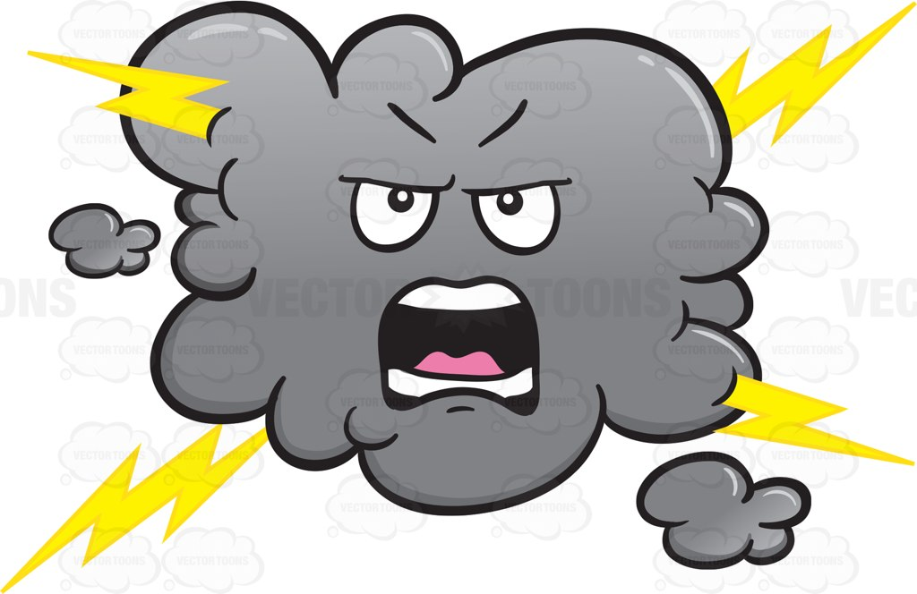Angry Storm Cloud Clipart - Clipart Suggest
