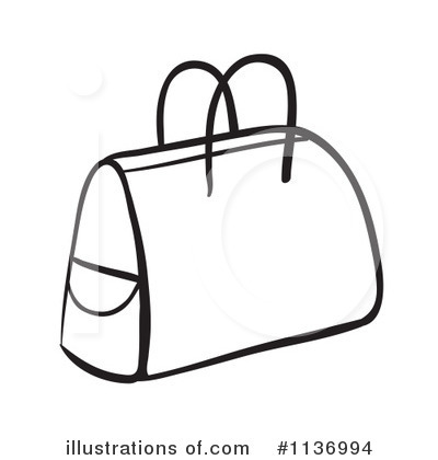 Bag Clipart  1136994 By Colematt   Royalty Free  Rf  Stock