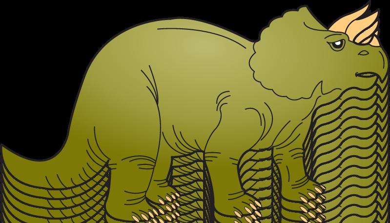 Triceratops Dinosaur Clipart - Clipart Kid