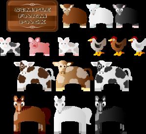 Farm Animals Clip Art At Clker Com   Vector Clip Art Online Royalty