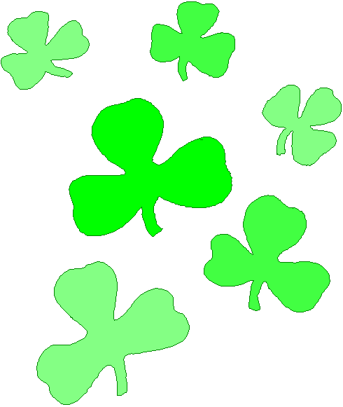 Free Shamrock Clip Art Black And White   Clipart Panda   Free Clipart