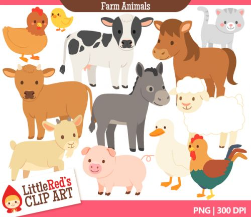 Meat And Dairy   Farm Animals Clip Art   Food Groups   Pinterest
