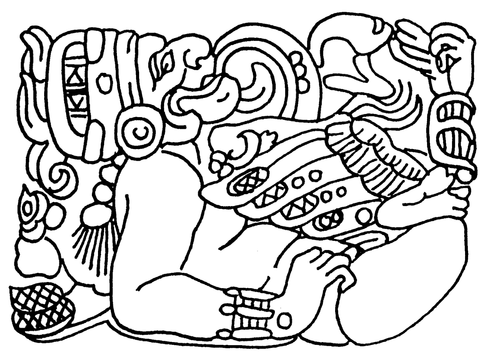 Mexican Clipart Black And White Clipart Black And White