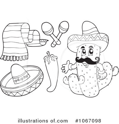 Mexico Clipart  1067098   Illustration By Visekart