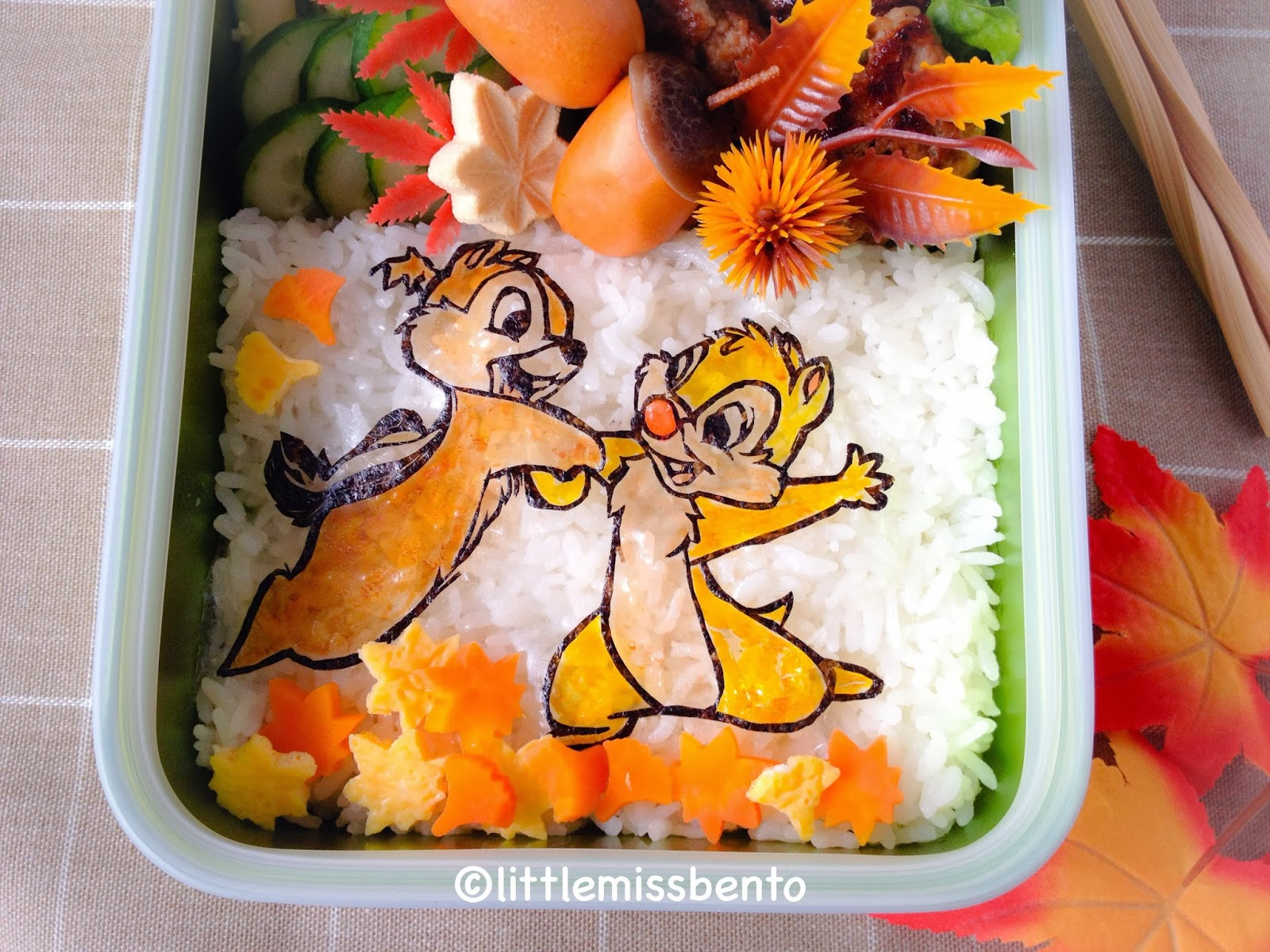 Of Packing This Chip N Dale Bento Hope You Enjoy This Fun Clip