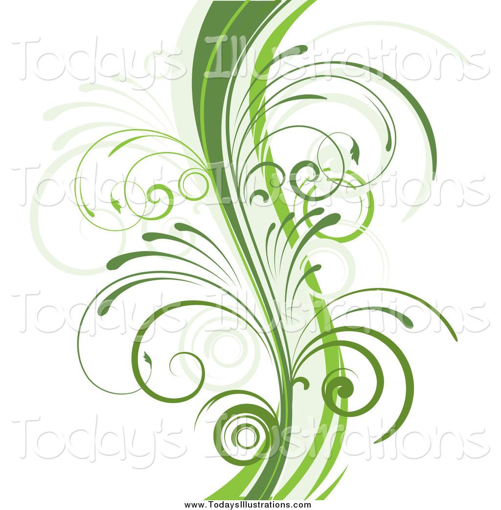 Vine Designs Art : Curly vine clipart suggest