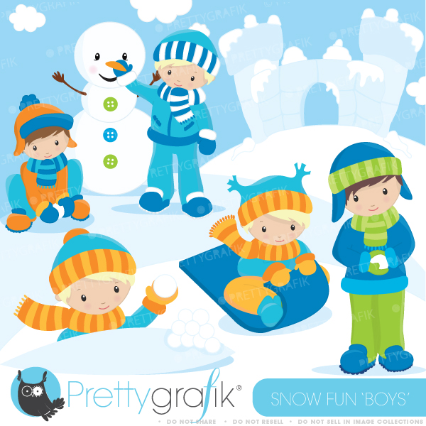 Funny Snow Clipart - Clipart Kid