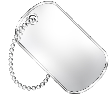 20120117074543 Blank Dog Tag Png