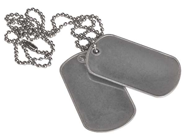 Dog Tags Blank   1 99 Dog Tags With Silencer
