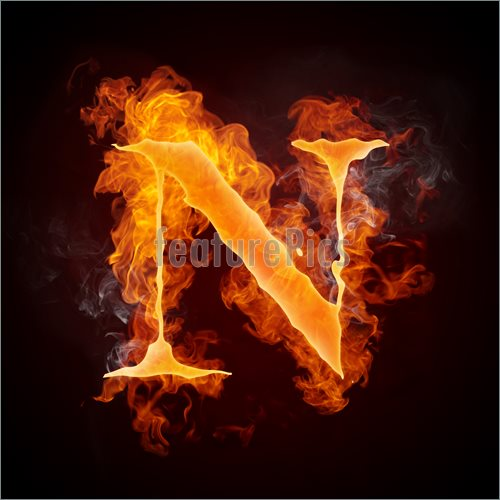 Fire Letters A Z Illustration  Clip Art To Download At Featurepics Com