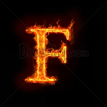 Graphic From Drawshop Fire Alphabets In Flame Letter F 22778 35 Jpg