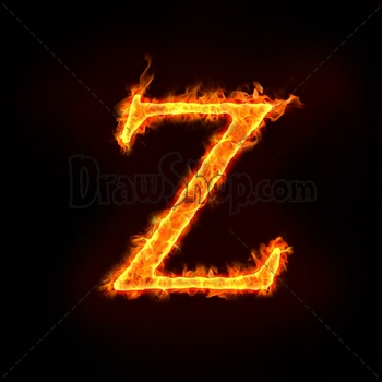 Graphic From Drawshop Fire Alphabets In Flame Letter Z 22798 35 Jpg