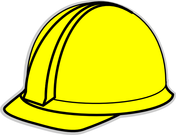 construction worker hat clipart - photo #4