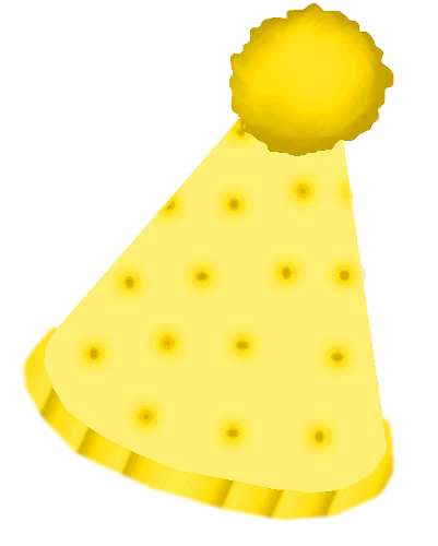 Yellow Hat Clipart Clown Hat Yellow By
