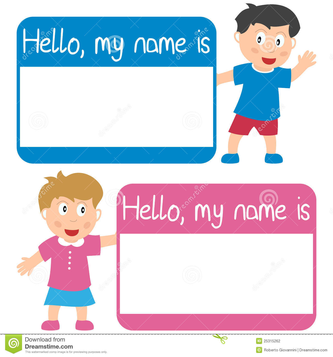 Back   Gallery For   Hello Name Tag Clip Art