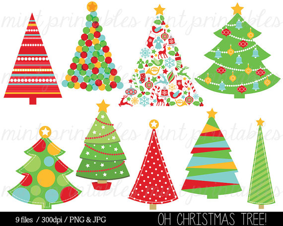 Christmas Clipart Christmas Tree Clip Art Christmas Trees Ornaments