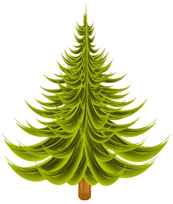 Christmas Tree Clip Art   Clip Art   Christmas 1   Clipart   Pinterest