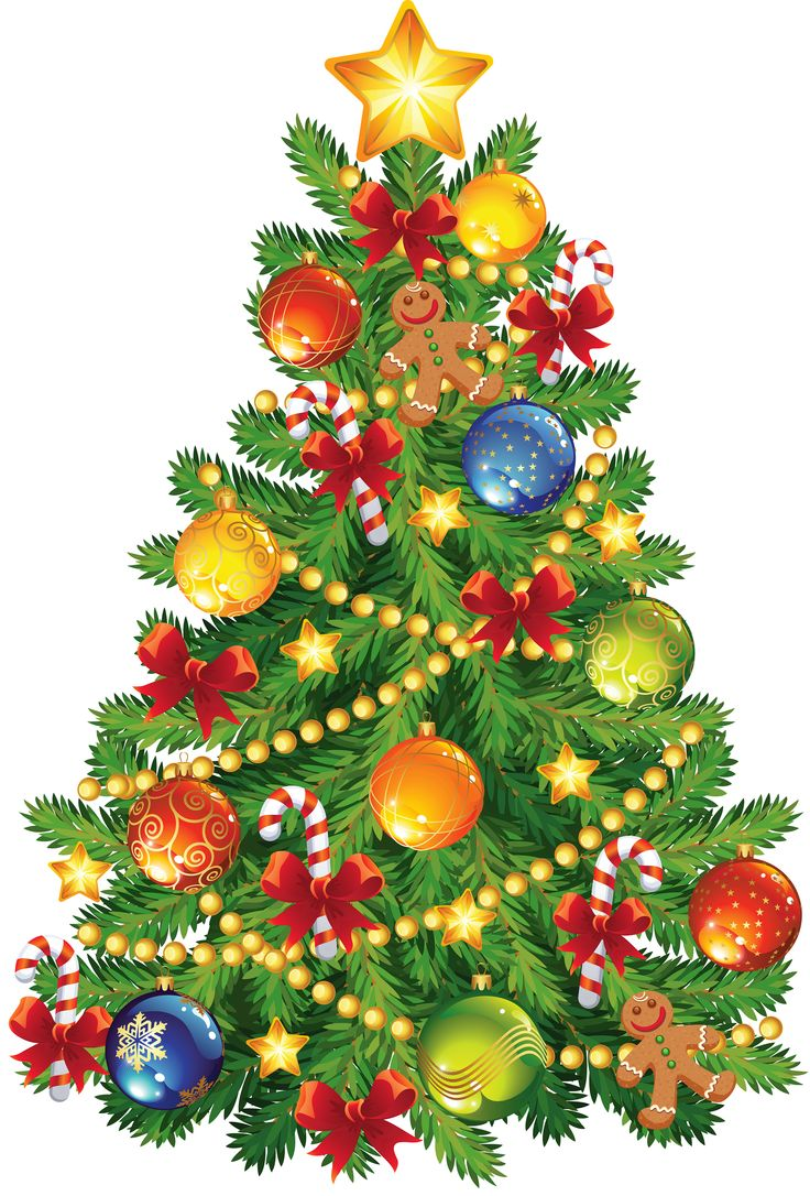 Christmas Tree Clip Art Large   Christmas   Pinterest