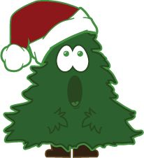 Christmas Tree Clipart   Christmas Clip Art 2   Pinterest