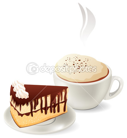 Pastry Hot Coffee Clipart - Clipart Suggest