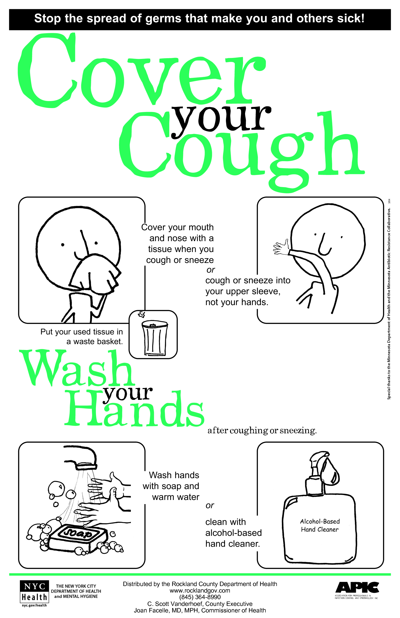 Cover Your Cough   Collection Picture Frames