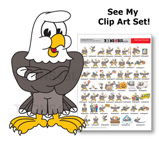 Eagle School Mascot Clip Art And School Mascot Logo Clip Art For Eagle